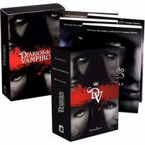 Coleção 7 Livros Diarios Do Vampiro Lacrada Frete Grátis