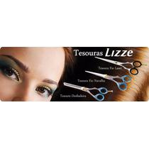 Lizze Kit De 03 Tesouras Profissionais (12,7 Cm).