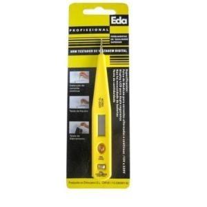 Testador De Voltagem Digital Ac/dc/ 12 A 220v Eda