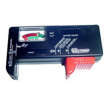 Testador De Pilhas E Baterias Testa Aa Aaa 9v C D Mod. Bt-2