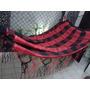 Rede De Dormir Flamengo Com Varanda Em Crochê.100% Algodão