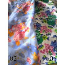 Tecido Oxford Estampa Floral Largura 1.50 Cm - Peça Com 10 M