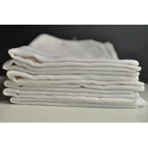 Pano De Chão Saco Alvejado Branco De Limpeza 6 Unidades