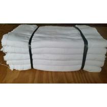 Saco Alvejado Pano P/ Limpeza Branco Fardo Com 50 Unidades