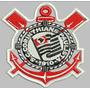 Bordado Termocolante Brasão Corinthians 20cm X 17cm