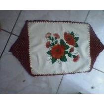 Tapete Artesanal Em Tecido E Croche