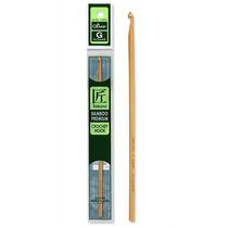 Agulha Clover Bamboo Premium Para Crochê Em Várias Numera