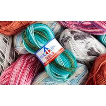 Lã Família 40g Para Tricô Crochê (pacote C/ 5 Novelos)