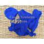 Wrap Touca Newborn (azul Royal) Tricô Crochê Bebê