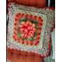 Capa Almofada Croche Artesanal Decorativa Harmonia