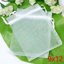 Saquinho Organza 9x12 Cm - Kit Com 50 Saquinhos
