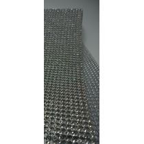 Manta Strass Cristal Alto Brilho 5x45cm * Preço Imbatível