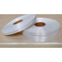 Fita De Cetim Branca Sem Aureola - 10mm X 200m