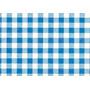 Tnt Impresso Xadrez Para Painel E Mesa De Festa Azul -2m