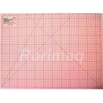 Base De Corte 45x30cm Pink Para Patchwork E Scrapbook.