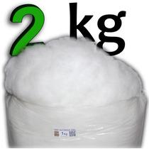 Enchimento Fibra Siliconada 2kg Almofadas, Bonecos