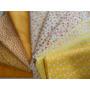 Kit Tecidos Algodão - Patchwork - Tom Amarelo - Kam1