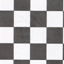 Tnt Estampado Para Festa Quadriculado Preto E Branco 5metros
