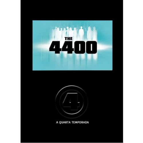 The 4400 Quarta Temporada Box Original 4 Dvds Imperdível!