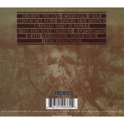 The Acacia Strain Dead Walk (import) Cd Novo Lacrado
