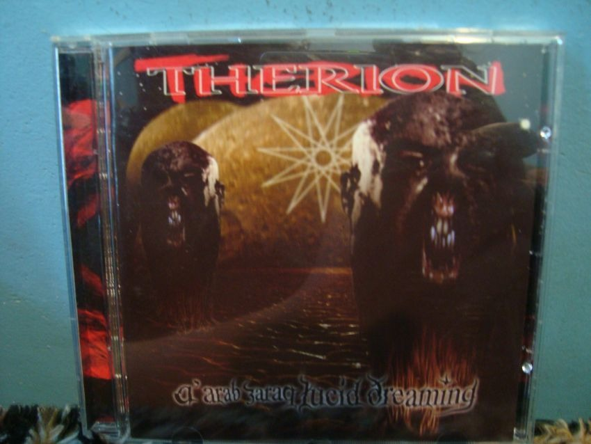 Therion - Aarab Zaraq Lucid Dreaming - Cd Importado - R$ 35,00 no ...