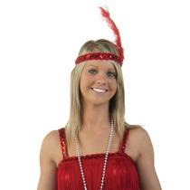 Faixa Tiara Estilo Charleston P/ Fantasias Festas E Carnaval