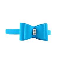 Tiara Azul Strass Nova Com Etiqueta Mariaclara Acessórios