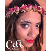 Coroa De Flores Artificias / Guirlanda De Flores Headband