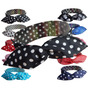 Faixa Cabelo Com Arame Kit 3 Pç Pinup Tiara Headband Retrô