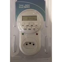 Timer Digital Tm-bv2 - 9 Programas Diarios - 10 Amperes