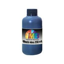 Tinta Preta 250ml Recarga Cartucho Impressora - Frete Gratis