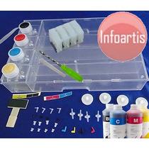 Reservatório Hp Pro X451 X476 C/ Antirefluxo Manual + Tinta