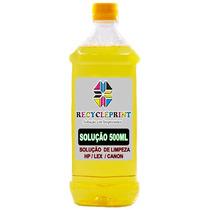 500ml Solução De Limpeza Clean P/ Cabeças Cartuchos De Tinta