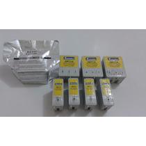 Kit 8 Cartuchos Impressora Epson 4 Pretos + 4 Color Usados