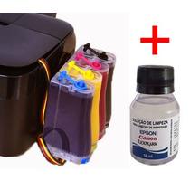Bulk Ink Epson Tx420, Tx235, Tx320f+ Kit Limpeza - Sem Tinta