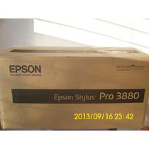 Plotter Epson 3880 17pol 43cm A2 + Cartu Reca P/ Sublimação