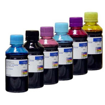 Kit Tinta 6 X 250ml Epson T50 R290 L800 1430 R200 R260 Rx580