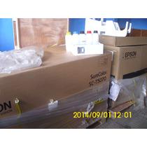 Plotter Epson T5070 91cm + 5 Cartu Recarrega P/ Sublimação