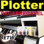 Cartucho Recarregavel Epson T544 Plotter 4000 7600 9600 Bulk
