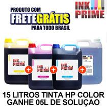 Tinta Impressora Epson 15 Litro + 5l De Solucao Frete Gratis