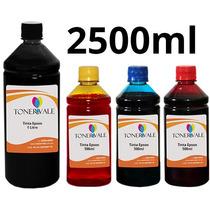 Recarga 4 Tinta Epson Tx125 T22 Tx120 Bulk Ink 2500ml