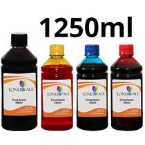 Recarga 4 Tinta Epson Tx420w Tx125 T23 C92 Bulk Ink 1250ml