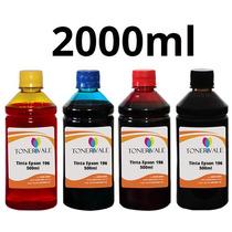 Kit 4 Tinta Impressora Epson Xp 214 Xp 401 Xp 411 Bulk Ink