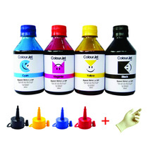 Kit De Tintas Para Recarga Cartucho Impressora Epson 4x250ml