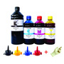 2500ml Refil Tinta Epson Para Impressora L100 L210 L355 L555