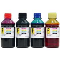 Kit 1lt Tintas Formulabs Para Epson / Brother 4x 250mls