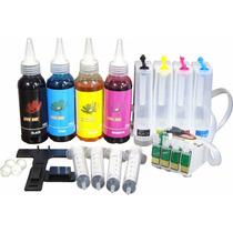 Bulk Ink Xp214 Xp204 Xp201 Xp401 Xp411 + Tinta Pigmentada