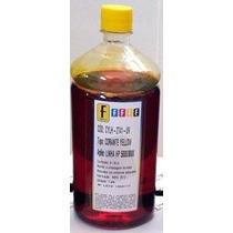 Tintas Yellow Para Recarga Cartucho Impressora Epson 1litro