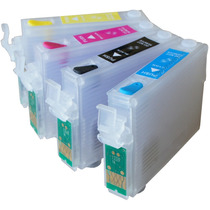 Kit 4 Cartuchos Recarregáveis T40w Tx600fw Tx550w +140ml Ink