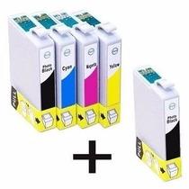 Kit5 Cartucho Tinta Ep Xp201 Xp204 Xp214 Xp401 Xp411 Novos